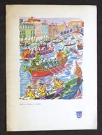 Collezionismo Menu Navi LLOYD Triestino Mn. Victoria - Pranzo 20 Settembre 1970 - Menus