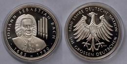 Johann Sebastian Bach Silber 999/1000 PP 1685-1750 Deutscher Komponist - Tokens & Medals