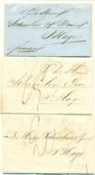 Correspondentie Van M. Bonse Te Amsterdam Naar Scheurleer Den Haag 1847 (2) En 1848 (1) - Niederlande