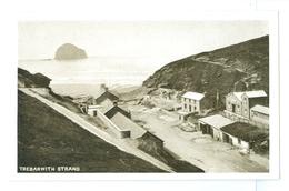Vintage, UK, Trebarwith Strand. Printed Pc, Unused. - England