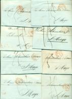Correspondentie Van Boeddinghaus Te Amsterdam Naar Scheurleer Den Haag 1844 (8) - ...-1852 Prephilately