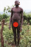 F22 PHOTOGRAPHIE ETHNIQUE CULTURE AFRIQUE ETHIOPIE TRIBU SURMA HOMME NU ETHNIE PEUPLE TRIBAL ETHNIC NACKT NAKED NUDE MEN - Völker & Typen