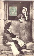 Bretagne Pittoresque Jeunes Amoureux De Berné - Personnages