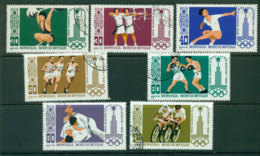 Mongolia 1980 Olympics CTO Lot21208 - Mongolia