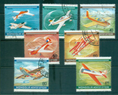 Mongolia 1980 Planes, Acrobatics CTO Lot56017 - Mongolia