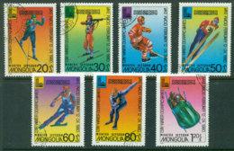 Mongolia 1980 Winter Olympics CTO Lot21210 - Mongolia