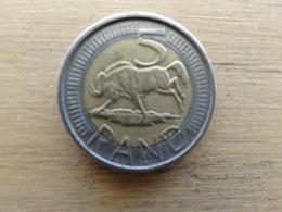 Afrique  Du Sud  5  Rand  2007  Km 346 - South Africa