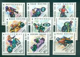 Mongolia 1981 Motoring Motor Cycles MUH Lot56004 - Mongolia
