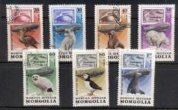 Mongolia 1981 Zeppelin Flights CTO - Mongolia