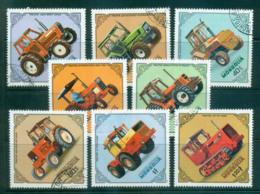 Mongolia 1982 Tractors CTO Lot56020 - Mongolia