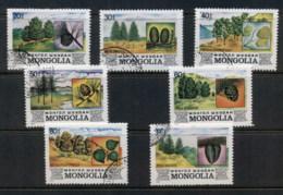 Mongolia 1982 Trees CTO - Mongolia