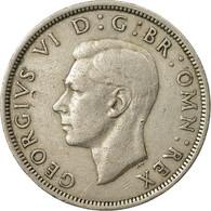 Monnaie, Grande-Bretagne, George VI, 1/2 Crown, 1948, TTB, Copper-nickel, KM:866 - 1902-1971 : Monnaies Post-Victoriennes