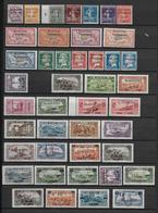 ALAOUITES - COLLECTION ASSEZ COMPLETE 2 PAGES * - COTE YVERT = 415 EUROS - Alaouites (1923-1930)