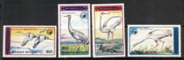 Mongolia 1990 Birds, Cranes MUH - Mongolia
