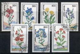 Mongolia 1991 Flowers CTO - Mongolia