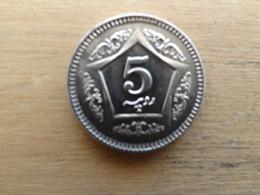 Pakistan  5  Rupees   2004   Km 65 - Pakistan