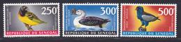 SENEGAL AERIENS N°   65 à 67 ** MNH Neufs Sans Charnière, TB (D7615) Oiseaux - 1968 - Sénégal (1960-...)