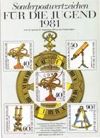 29937. Tarjeta Maxima LAGE - LIPPE (Alemania Federal) 1982. Optische Instrument, Optic - [7] República Federal