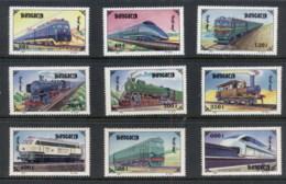 Mongolia 1997 Trains MUH - Mongolia