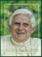 Mongolia 2007 Pope Benedict , Photo Mosaic Sheetlet MUH Lot82935 - Mongolia