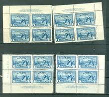 Canada C9 Canada Goose Airmail Plate 2 All Corners MNH 1946 Cat $36 Cdn WYSIWYG A04s - Airmail