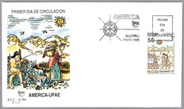 AGRICULTURA De Los INCAS. America-UPAE. SPD/FDC Madrid 1989 - American Indians