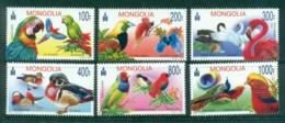 Mongolia 2012 Birds MUH Lot82930 - Mongolia