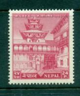 Nepal 1956 Hanuman Gate 24p MLH Lot83198 - Nepal