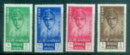 Nepal 1961 Kinh Mahendra's 41st Birthday MLH - Nepal