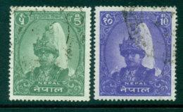 Nepal 1962 King Mahendra 5,10R FU Lot25162 - Nepal