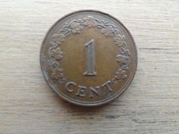 Malte  1  Cent  1975  Km 8 - Malte