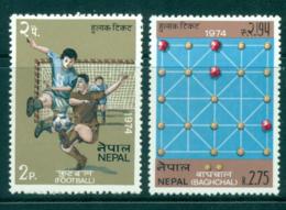 Nepal 1974 Nepalese Games MUH Lot35057 - Nepal
