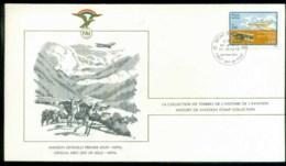 Nepal 1978 History Of Aviation, FAI FDC Lot79557 - Nepal