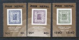 Nepal 1981 Nepalese Stamp Cent MUH - Nepal