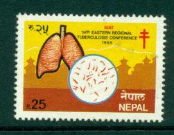 Nepal 1985 Tuberculosis Conf FU Lot25163 - Nepal