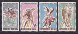 SENEGAL AERIENS N°   68 à 71 ** MNH Neufs Sans Charnière, TB (D7616) Jeux Olympiques Mexico - 1968 - Sénégal (1960-...)