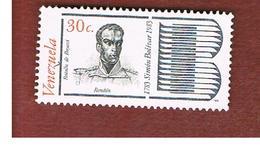 VENEZUELA  - SG 2431    -       1980  BICENTENARY SIMON BOLIVAR   -  USED° - Venezuela