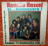 """RENATO RASCEL SI..BUONASERA COVER NO VINYL 45 GIRI - 7"""" - Accessori & Bustine"""