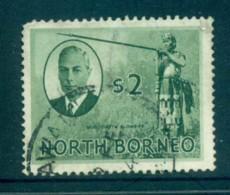 North Borneo 1950 KGVI Murut With Blowgun $2 FU Lot82364 - Stamps