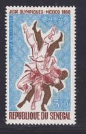 SENEGAL AERIENS N°   70 ** MNH Neuf Sans Charnière, TB (D7618) Jeux Olympiques Mexico, Judo - 1968 - Senegal (1960-...)