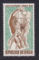 SENEGAL AERIENS N°   71 ** MNH Neuf Sans Charnière, TB (D7619) Jeux Olympiques Mexico, Basket-ball - 1968 - Sénégal (1960-...)