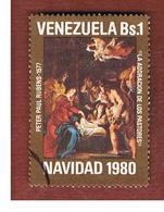 VENEZUELA  - SG 2445    -       1980   CHRISTMAS (RUBENS) -  USED° - Venezuela