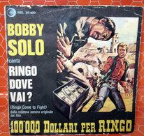 """BOBBY SOLO RINGO DOVE VAI? COVER NO VINYL 45 GIRI - 7"""" - Accessori & Bustine"""