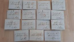 Correspondentie Van Brak & Zoon Te Amsterdam Naar Scheurleer Den Haag 1846 (1), 1847 (13), En 1849 (1) - ...-1852 Prephilately
