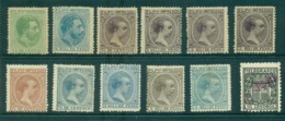 Philippines 1886 On Asst Newspaper Stamps MH/FU Lot31743 - Philippines
