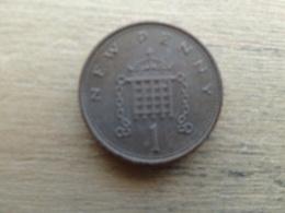 Grande-bretagne  1 New Penny  1980  Km 915 - 1971-… : Monnaies Décimales
