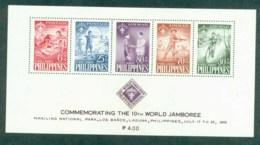 Philippines 1959 Boy Scout World Jamboree MS MUH Lot82559 - Philippines