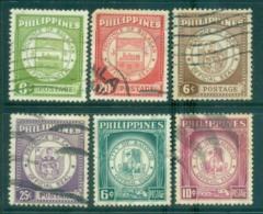 Philippines 1959 Provincial Seals FU Lot31672 - Philippines