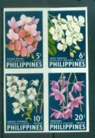 Philippines 1962 Flowers, Orchids IMPERF MUH MUH - Philippines