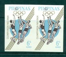 Philippines 1964 Basketball IMPERF Pr MUH Lot31695 - Philippines